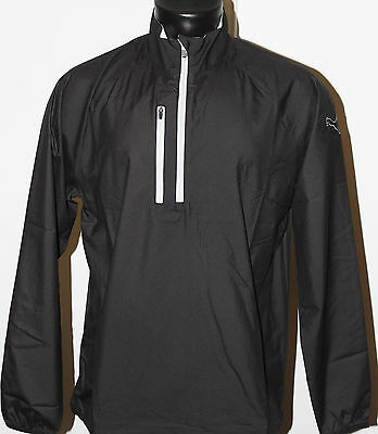Puma Golf 1/2 Zip Wind Jacket - Black - 2016 Collection - New with Tags