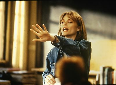 "MICHELLE PFEIFFER in ""Dangerous Minds"" - Original 35mm COLOR Slide - 1995"