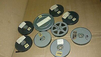 9  REELS OF AMATEUR 8mm HOME MOVIES FROM THE 1960's & 1970's