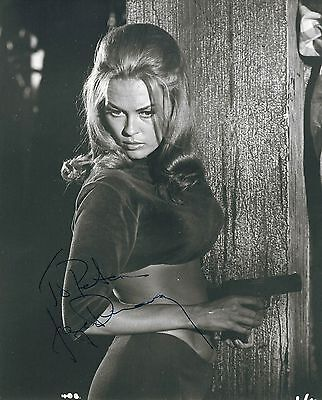 AUTOGRAPHE FAYE DUNAWAY PHOTO DÉDICACÉE SIGNED SIGNIERT The Happening
