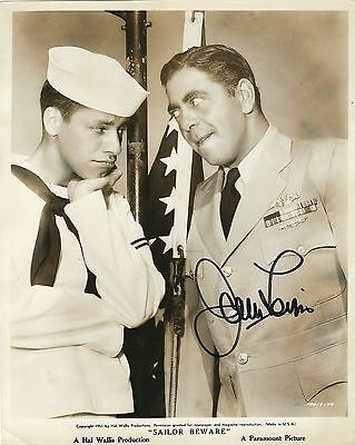 Autographe Jerry Lewis Photo Ancienne Dedicacee  Signed Photo - Signiert