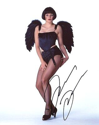 Autographe LUCY LAWLESS SEXY photo dédicacée signiert signed autografo XENA