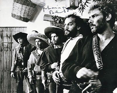 GIAN MARIA VOLONTE ( † 1994) SCARCE HAND-SIGNED PHOTO For a Few Dollars more