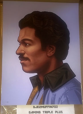 Mondo Lando 12X16 Giclee Limited Edition (Mike Mitchell) Star Wars (Oop)