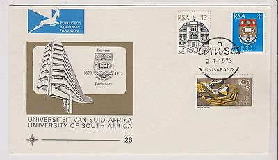 South Africa  - First Day Cover - University of South Africa - G44