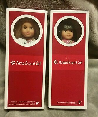 American Girl Julie and Ivy Mini Doll Lot of 2 , Best Friend