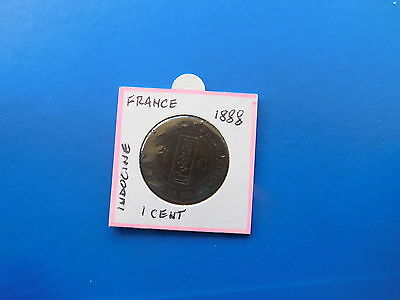 Coins.indo.china.1.cent.1888..#93