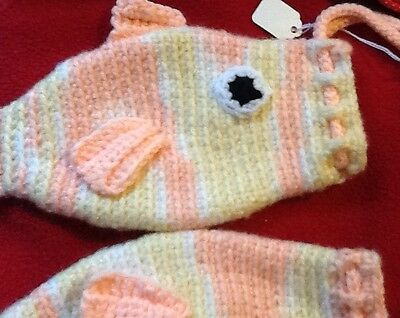 Knitted Fish Pot Holders or Purses