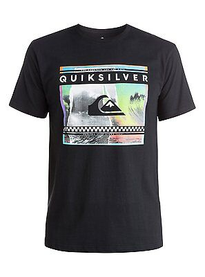 Quiksilver™ Classic Sprayed Out - T-Shirt - Camiseta - Hombre - XS - Negro