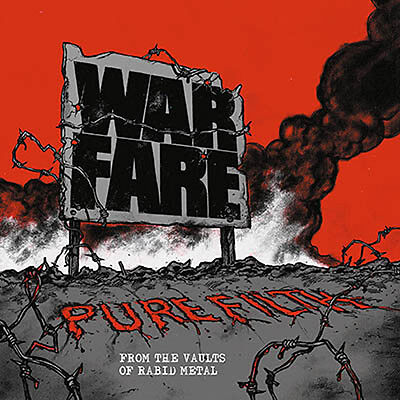 WARFARE - pure filth: from the vaults of rabid metal LP