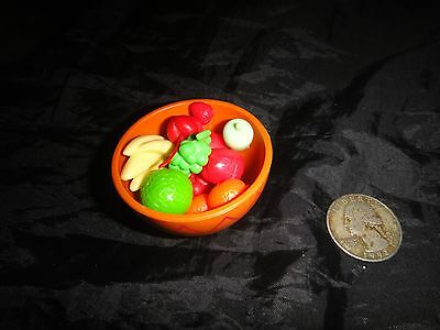 BARBIE SIZE FOOD~Bowl of Fruit~MUST SEE!