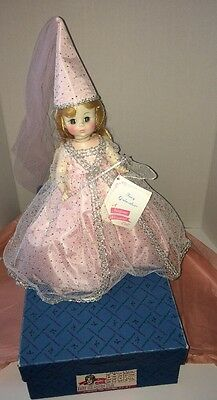 "Vintage Madame Alexander Doll 14"" Fairy God-Mother #1550 w Box"