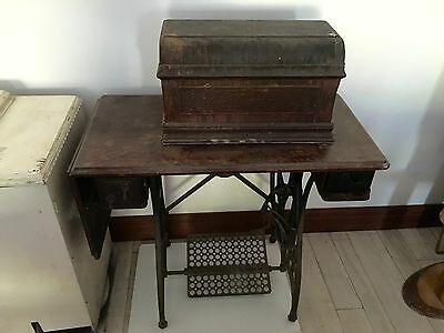 Old Antique Sewing Machine