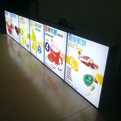 Advertising Lightbox Equipment Aluminum LED Light Box Display Panel with A1 size