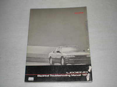 ACURA Legend  1987  Electrical Troubleshooting Manual  #C134