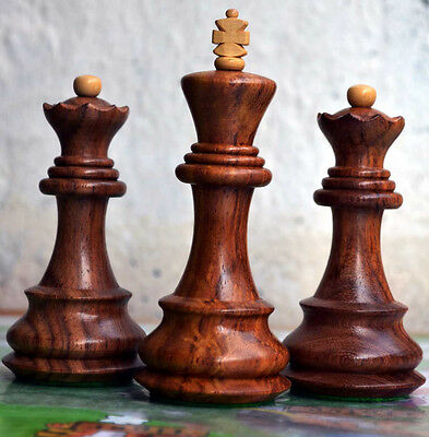 Zagreb'59 Series Dubrovnik Bobby Fischer Chess Set Classically Carved 34 PCs