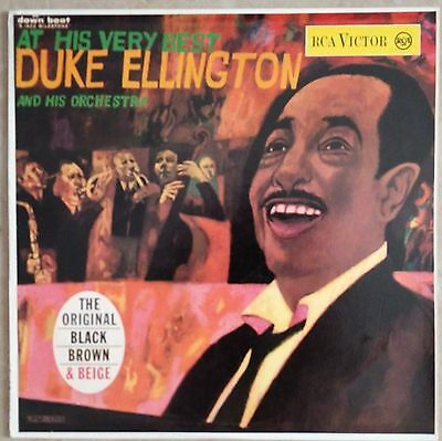 Duke Ellington And His Orchestra-At His Very Best Lp EX++ 1959 Italian Issue