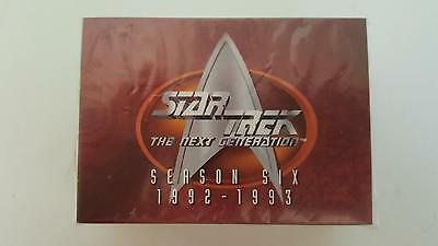 Star Trek TNG The Next Generation Season 6 Collector cards base set of 108 cards