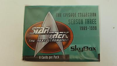 Star Trek TNG The Next Generation Season 3 Collector cards base set of 108 cards