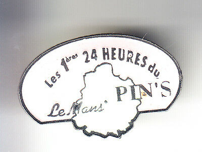 Rare Pins Pin's .. Salon Show Expo Fabricant 24H Lemans Rose & Vert Clair ~B4