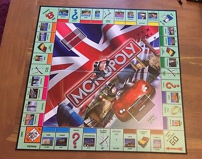 Here And Now Uk England Monopoly Replacement Game Board Spares