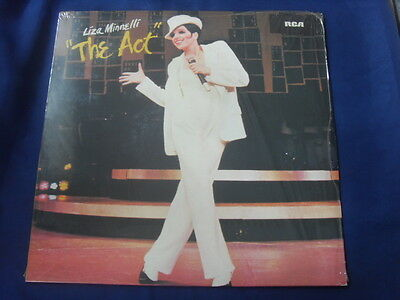 Lp- Liza Minneli The Act (Barry Nelson) Hot Enough For You? City Lights Vg 1978