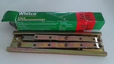 2 sets of Whitco 200mm friction casement stay W010301