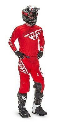 Fly Racing Lite Hydrogen Jersey & Pants Combo Set - Red