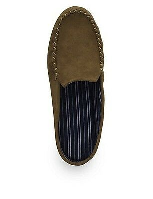 BRAND NEW MARKS & SPENCERS MENS SLIP ON SUEDE LEATHER SCUFF MULE SLIPPERS size9