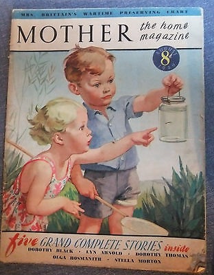Wartime Magazine MOTHER the home magazine