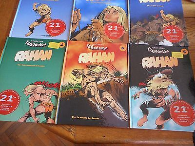 Rahan collection FREDERIQUE complete 1 à 6 COMME NEUF