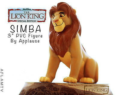 Lion King Simba PVC Figure Figurine Applause Disney Cake Topper Mufasa Guard