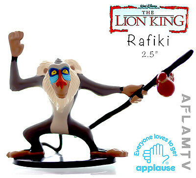 Lion King PVC Figure Rafiki Staf Applause Disney Cake Toppers Figurine . Guard