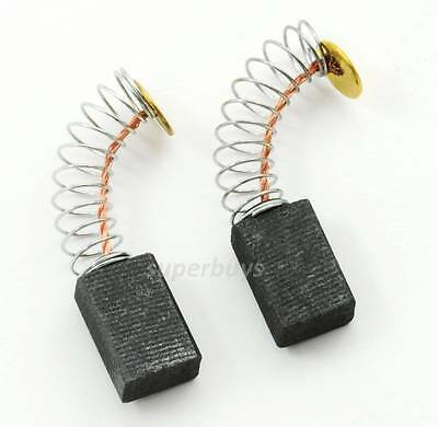 2pc Carbon Motor Brush 13x 8x 5mm Spare Part Electrical Spring Power Drill Tool