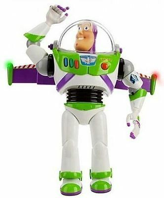 """2017 FAST Pixar Toy Story 12"""" Buzz Lightyear Ultimate Talking Action Figure ToyS"""
