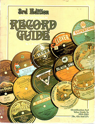 American Premium Record Identification & Value Guide-1915-1965-Docks-378 Pages