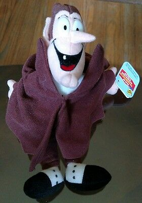 1998 General Mills Count Chocula Plush Toy With Tags