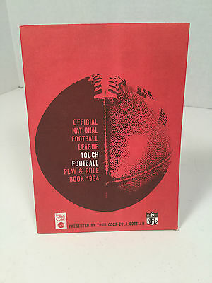 Coca-Cola, Official NFL Touch Football, Play & Rule Book, 1964, Things go better