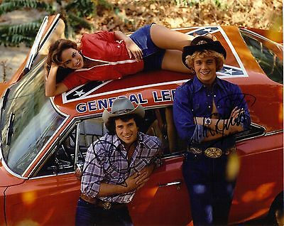 Dukes Of Hazard  ,Genuine Hand Signed 10x8 Photo, Comes With COA