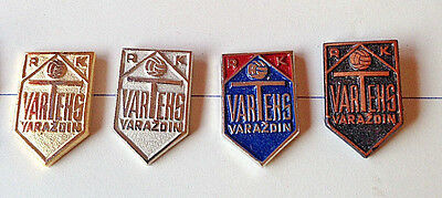 HANDBALL - Club VARTEKS,Varazdin Croatia - Complete set of 4 different pins