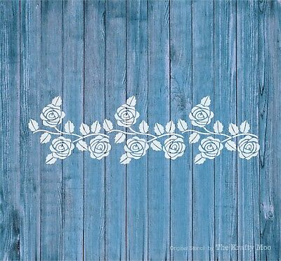 Stencil 125 Mylar Reusable Art Craft Fabric Wall Airbrush Shabby Chic Home Decor
