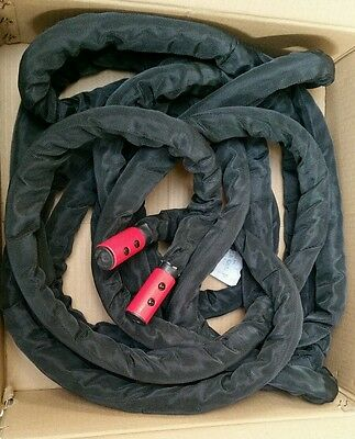 Physical Company Battling Rope - 10m - 25mm strength conditioning training 4.3kg