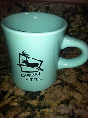 Caribou Coffee Mug Cup Restaurant C-Handle Promotion Advertising