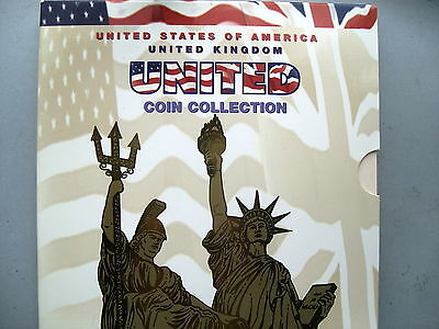 UK and USA United Uncirculated coin set 1997