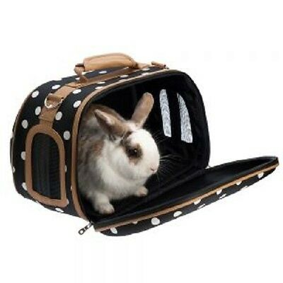 Four Leaf Clover Pet Carrier Small Animal Rabbit Guinea Pig Brand New FREE P & P