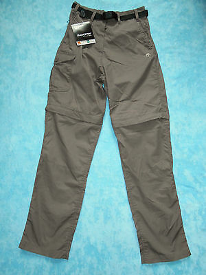 Craghoppers Kiwi Convertible Trousers Dark Sand