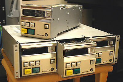Tomcat NAB broadcast tape cartridge system…. large job lot !