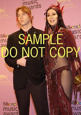 #D1988 CHER SEXY SMILE Candid PHOTO I got you babe
