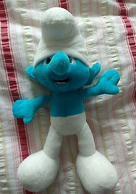 The Smurfs Movie Smurf Plush Soft Toy great condition