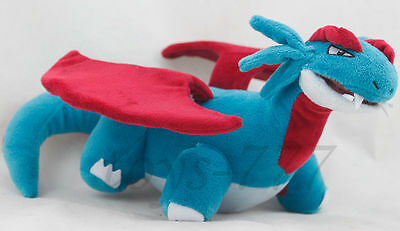 "Pokemon Salamence Character 12"" Stuffed Animal Nintendo Plush soft toy Cartoon"
